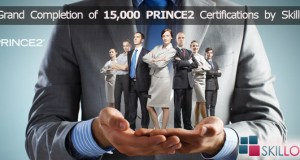 Completion of 15000 PRINCE2 Certifications in India
