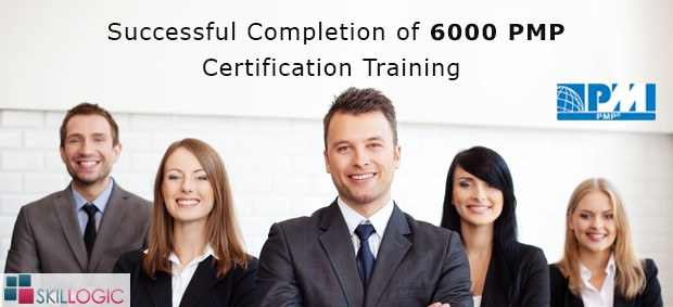 Skillogic Completed 6000 PMP certification training