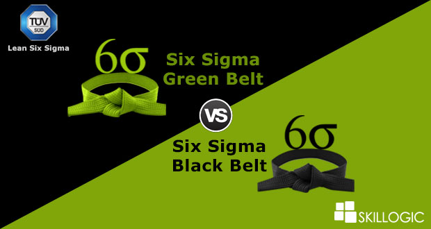 Six Sigma Black Belt Vs. Six Sigma Green Belt