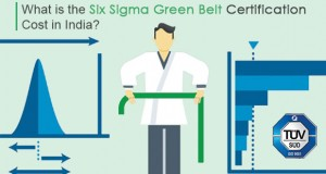 Cost of Six Sigma Training & Certification in INDIA