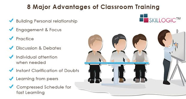 8 Major Advantages of Classroom Training